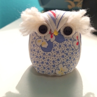 It's a hoot! by me. Pattern by Sew Into The Fabric