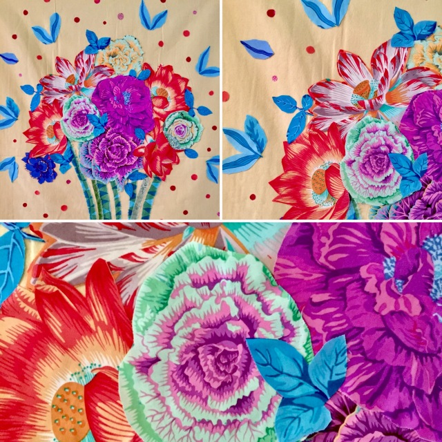 My Floral Collage Creation