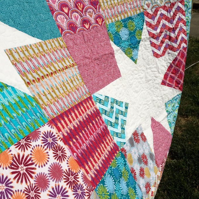 First longarm quilting up close & personal 2