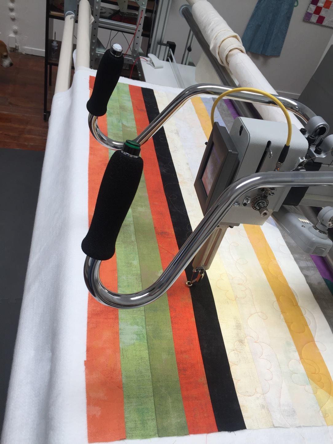 Longarm at Hello Stitch 2