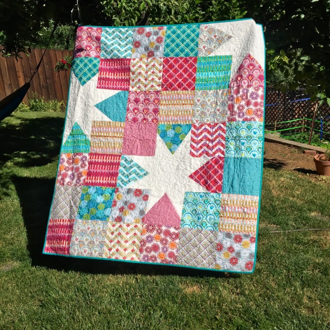 My first longarm quilting (1)